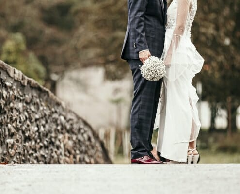Fotografía de boda original de I&J por Arri Studioa (Tolosa)