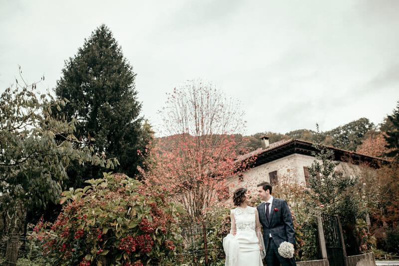 Sesión de fotografía de boda de Itxaro & Jon en Itzea